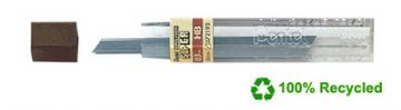 "144 PENTEL SUPER MECHANICAL PENCIL REFILL LEADS 0.3mm 4H 3H 2H H HB B ""12 Tubes"""